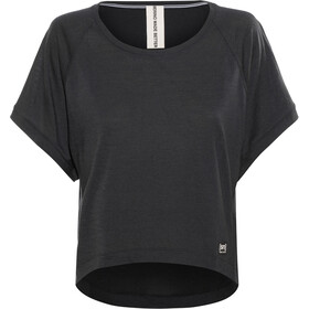 super.natural Motion Peyto Camiseta manga corta Mujer, jet black